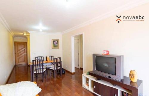 Apartamento Com 3 Dormitórios À Venda, 78 M² Por R$ 380.000 - Vila Alzira - Santo André/sp - Ap3311