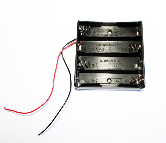 Suporte Encaixe P/ Bateria 18650 9800mah De Lanterna Tática