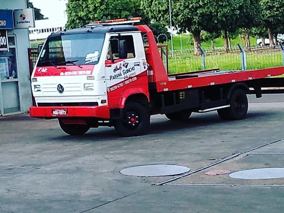 Vw 8.140 Caminhão Guincho Plataforma 5,5m