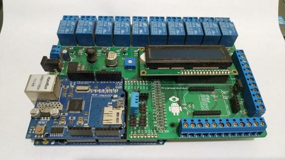 Shield Arduino Automação E Alarme Residencial
