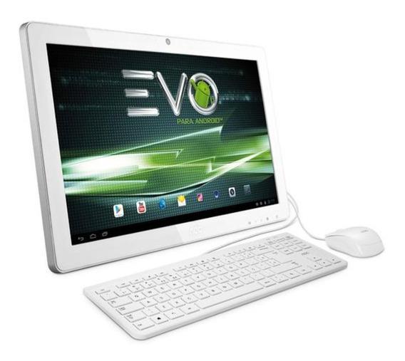 Computador All-in-one Aoc 21,5 Android Evo Full Hd Branco