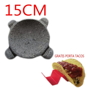 Molcajete / Mortero Mexicano En Piedra Volcánica