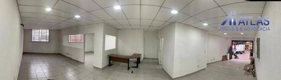 Salão Para Alugar, 120 M² Por R$ 3.500,00/mês - Vila Maria - São Paulo/sp - Sl0124