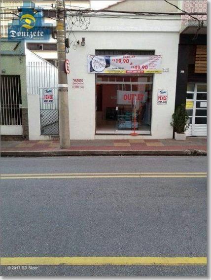 Salão Comercial À Venda, Santo Antônio, São Caetano Do Sul. - Sl0008