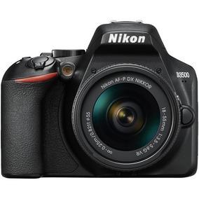 Câmera Nikon D3500 Com Lente 18-55mm Dslr