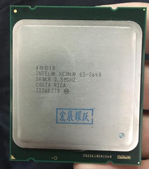 Intel Xeon E5 2640
