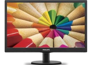 Monitor Hdmi Pc 19 Pulgadas Led Philips Vga 193v5lhsb2/55