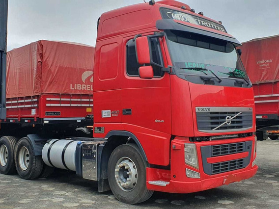 Fh460 Globetroter I-shifit 6x2 Ano 2014 R$240000,00