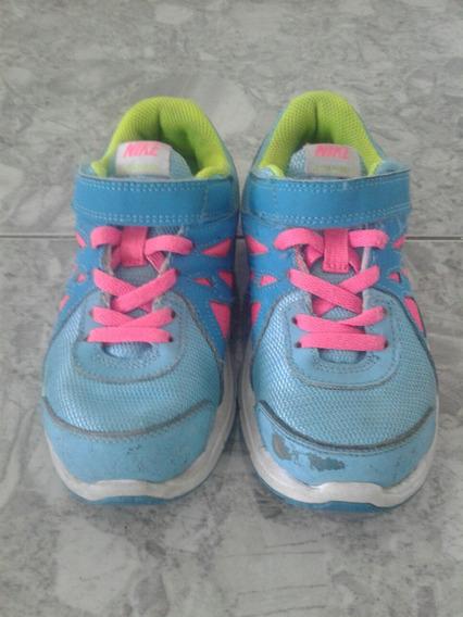 Zapatos Nike Para Niñas Modelo Evolution 2 Talla 31 Usados