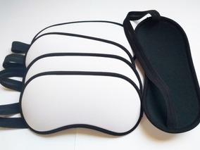 Kit 150 Máscara Branca Para Sublimação Em Neoprene