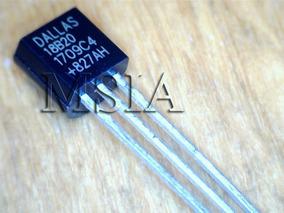 Lote 2 Pçs Sensor De Temperatura Ds18b20 18b20 Arduino Msia
