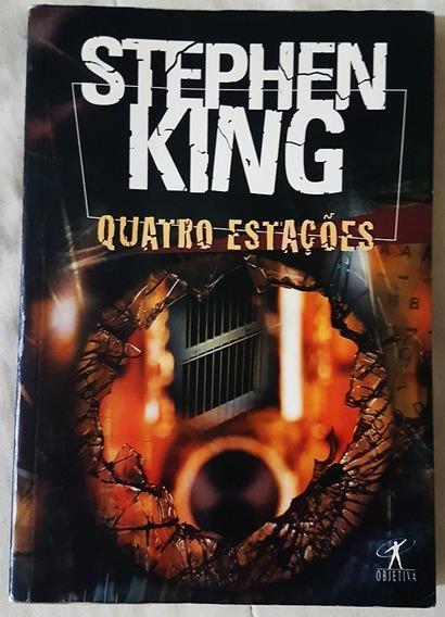 Quatro Estações Stephen King Ótimo Estado + Brinde