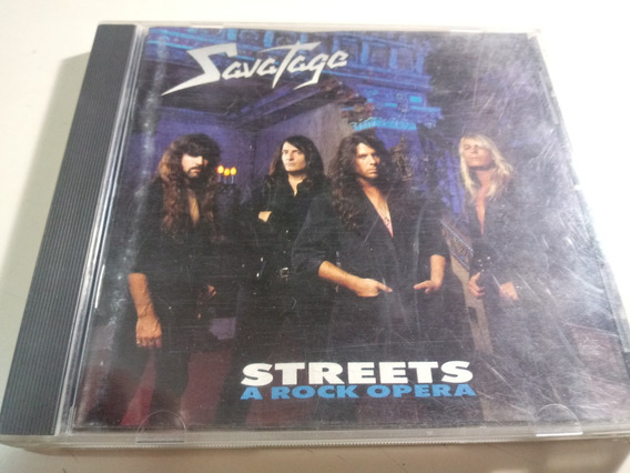Savatage - Streets Rock Opera - Made In Usa