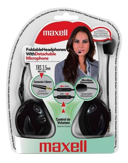 Headset C/ Microfone Destacável Maxell 346193 (10501)