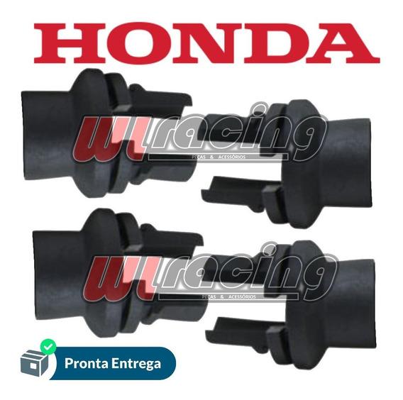 Kit 4 Borrachas Seta Led Honda Cb250 Twister 19 Original
