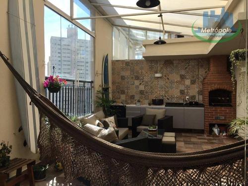 Apartamento Duplex À Venda, 98 M² Por R$ 550.000,00 - Vila Augusta - Guarulhos/sp - Ad0011