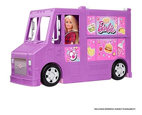 Camion De Comida Barbie Fresh N Fun