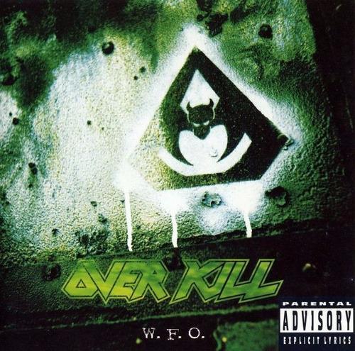 Overkill - Cd W.f.o. (1994) Thrash Metal   Mercado Livre