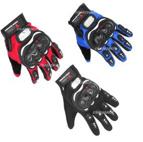 Kit 7 Par Luva Motociclista Ciclista, Proteção Pro Biker