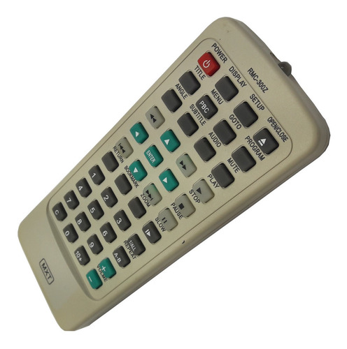 Controle Remoto Dvd Cyberhome Rmc-300z  Cce/midi C0763