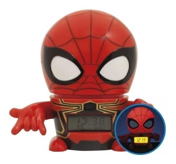 Reloj Despertador Iron Spider Avengers Bulbotz 2021692