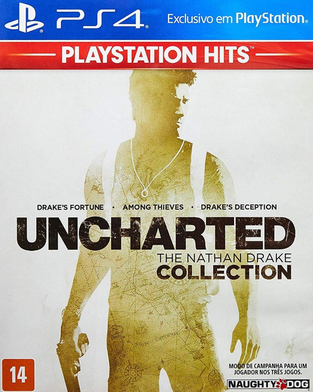 Uncharted The Nathan Drake Collection - Ps4 - Mídia Fisica