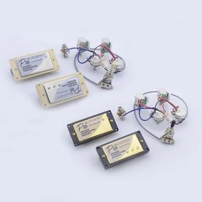Captadores EpiPhone Probucker Top (par Set) + Kit Elétrica