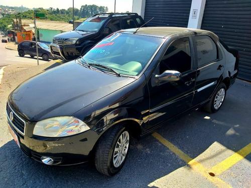 Fiat Siena El 1.0 Completo - Ano 2011 - Flex - Preto - 5p