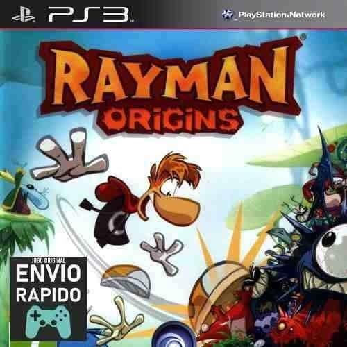 Rayman Origins - Jogos Ps3 Original