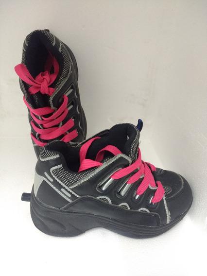 Zapatillas Con Ruedas Niños Talle 30,5 Eur 30.5 Poco Uso 4