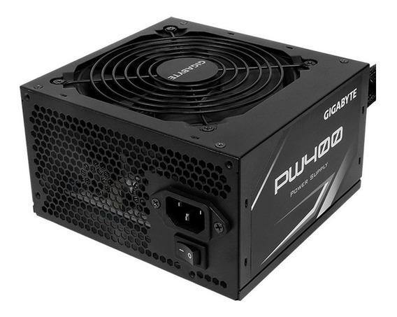 Fuente PC ATX Gigabyte PW400 110V/220V negra
