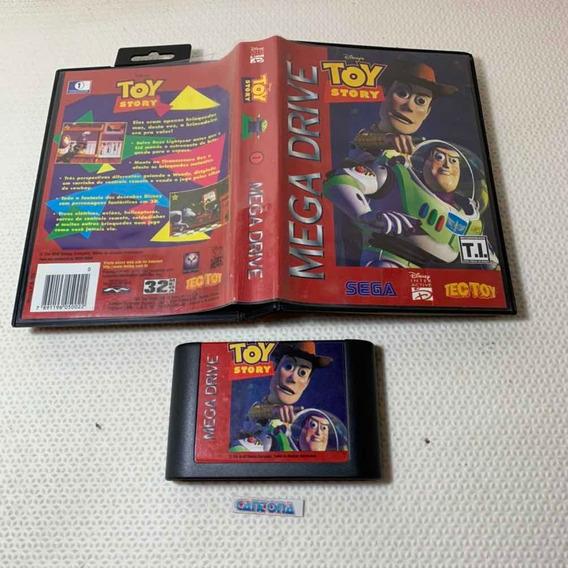 Toy Story Original Tec Toy Mega Drive Com Capa
