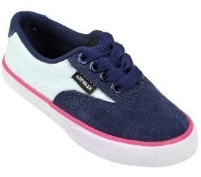 Zapatillas Airwalk Junior Navy Aqua Pink Liquidación