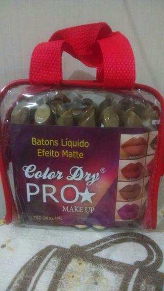 30 Batons Líquidos Matte Dry Pro