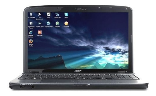 Notebook Acer 5738 Dual Core 320gb Windows 15,6