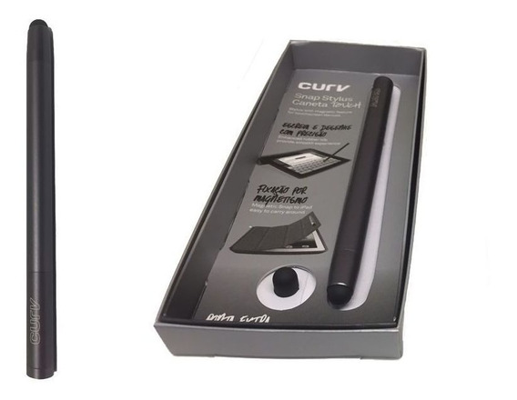 Caneta Touch Profissional Magnética Space Gray - Curv