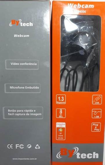 Web Cam Com Microfone Embutido Bytech 94006 &#