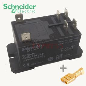 Rele Original Schneider Rpf2ap7 30a 220v + 6 Terminais 6,3mm
