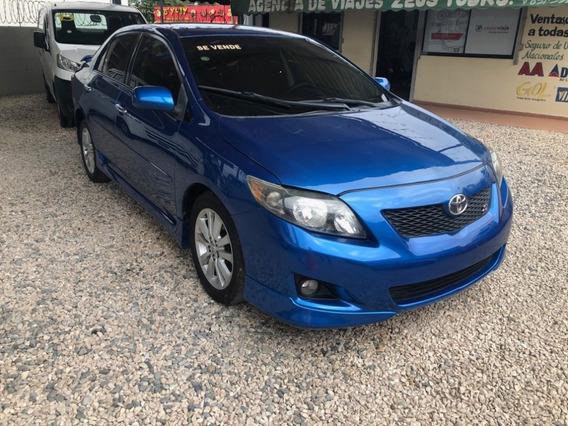 Toyota Corolla S 2009 Oferta!!! Azul