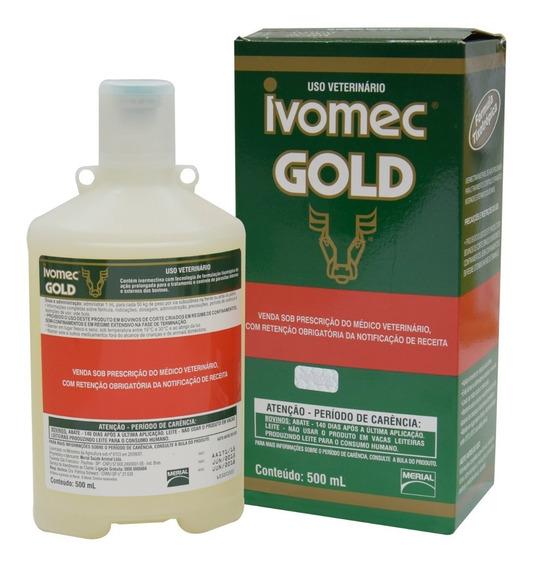 Ivomec Gold 500ml Injetável Original 3,15% Ivermectina