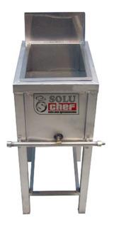 Freidora industrial Soluchef FR00145 plata