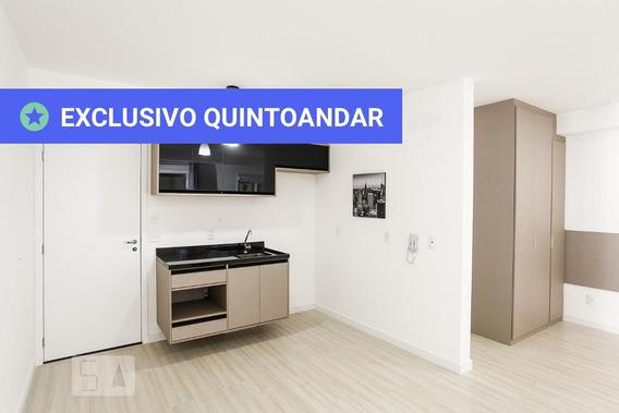 Studio No 19º Andar Com 1 Dormitório E 1 Garagem - Id: 892958089 - 258089