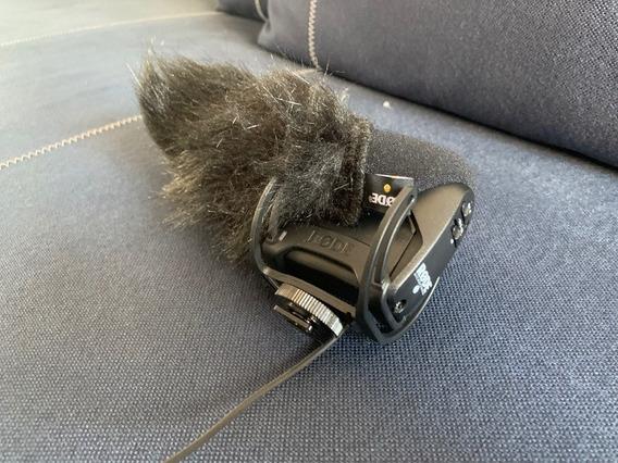 Microfone Rode Videomic Pro - Sistema Rycote Lyre