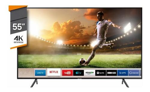 "Smart TV Samsung Series 7 UN55NU7100GCZB LED 4K 55"""