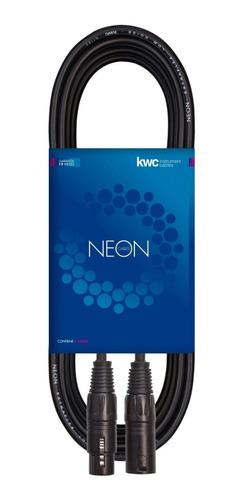 Cable Micrófono Canon Canon Kwc Neon 122 - 9 Metros Xlr