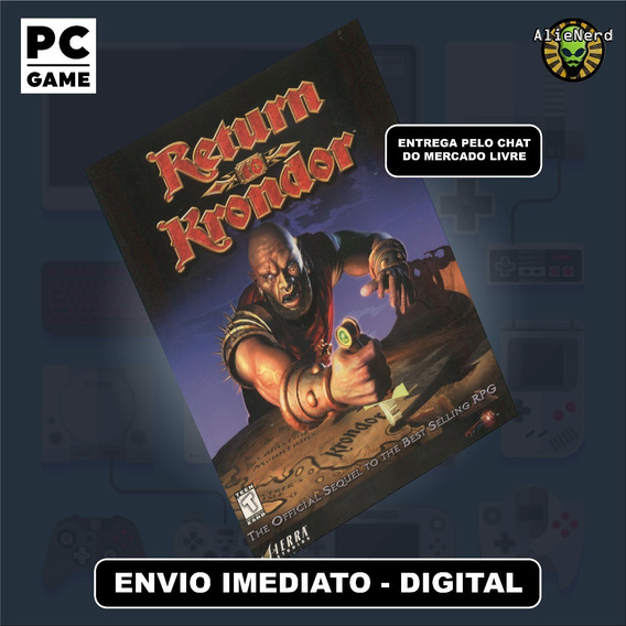 Return To Krondor - Pc - Mídia Digital