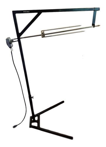 Asador Spiedo Kit + Pedestal