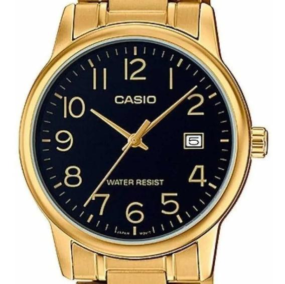 Relógio Casio Masculino Dourado Ltp- Original Frete Fratis