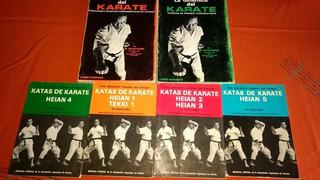 Pack De 6 Libros De Karate