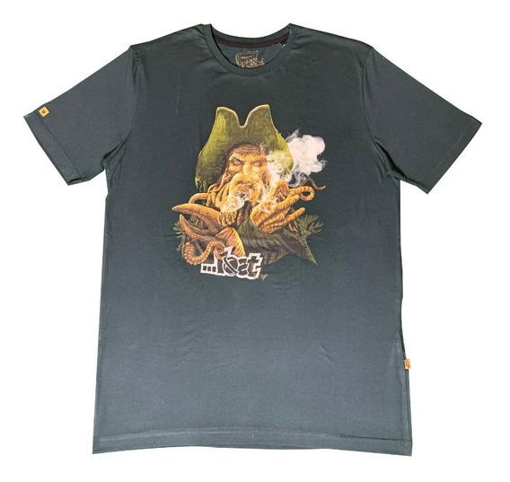Camiseta Lost Original Especial Linha Piratas Do Caribe M